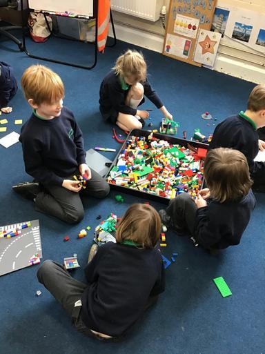 We built bridges and London landmarks!