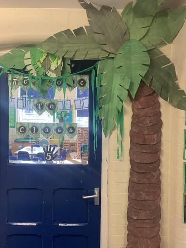 Our Classroom Entrance