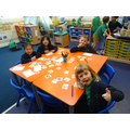 We played our favourite phonics game - Obb and Bob!