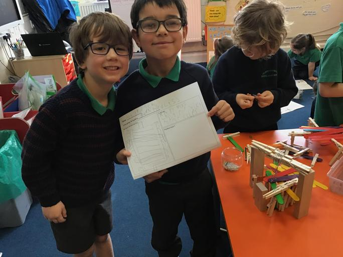 A model of Tower Bridge!