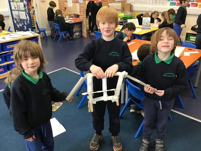 Inspired by Tower Bridge, we made our own functioning bridge!