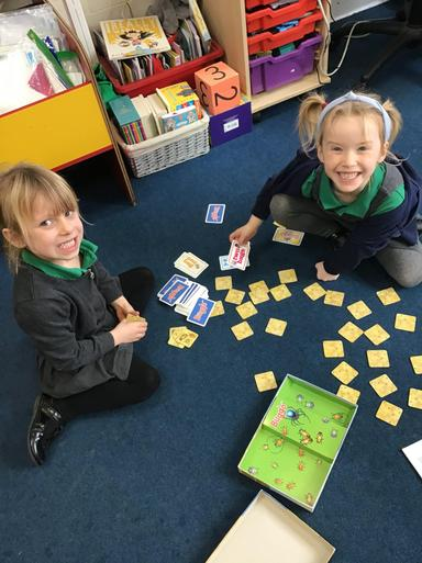 We LOVE the Buggo number game!
