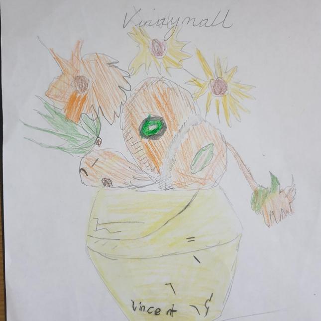 Vinay's drawing