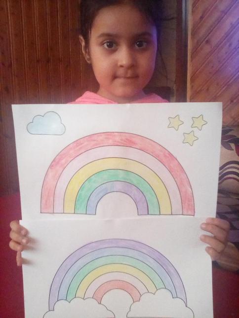 Avneet's beautiful rainbows