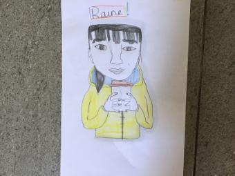 Raine's self portrait