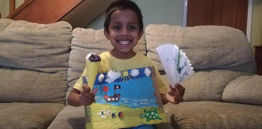 Dasindu's summer art