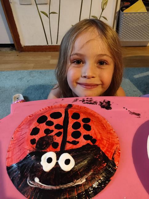 Emma's ladybird