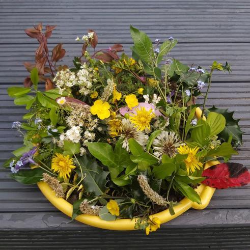 Jayden's flower saucer