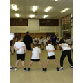 Year six throw and catch challenge