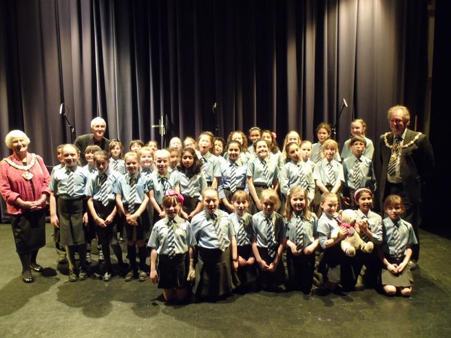 Westbrook Old Hall Primary KS2 Choir Winners 2016