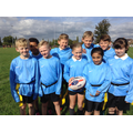 October 2016: Year 5 Tag Rugby Team!