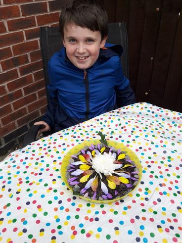 Greg's flower saucer