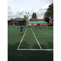 Tennis tournament at our local club
