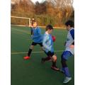Battling for the Ball! (ESFA)