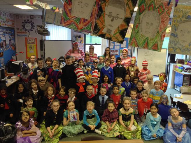 We had a lot of fun dressing up for WBD!