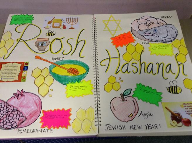 We learned about how Rosh Hashanah is celebrated.