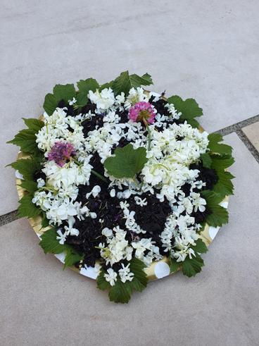 Evie's flower saucer