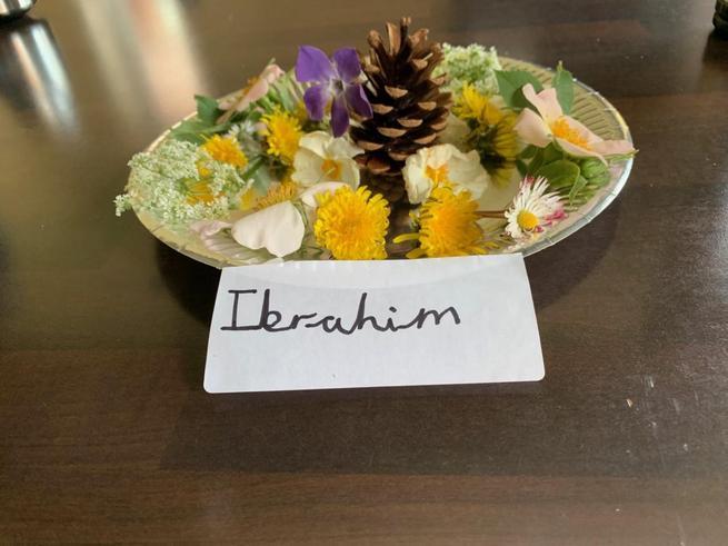 Ibrahim's flower saucer