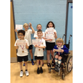 2nd & 3rd place! Well done to both teams! (Boccia)