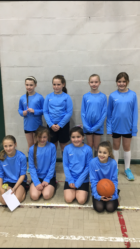 Year 5 and 6 Netball Team