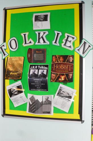 Our author is Tolkien