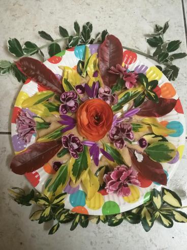 Aanchal flower saucer