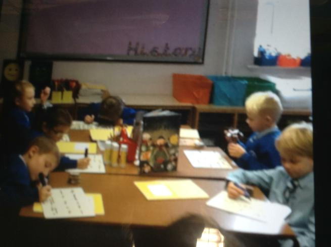 We worked hard to write our scripts