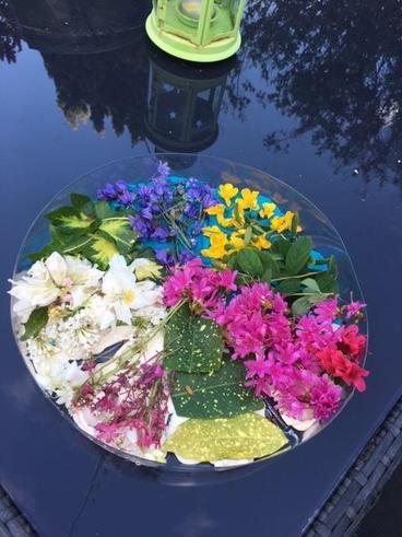 Albie's flower saucer