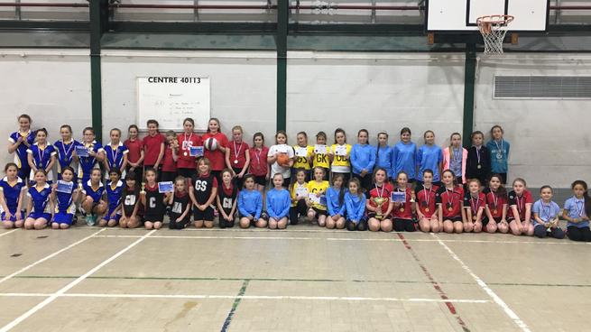 Penketh netball tournament teams