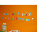 'We are all special and all different'
