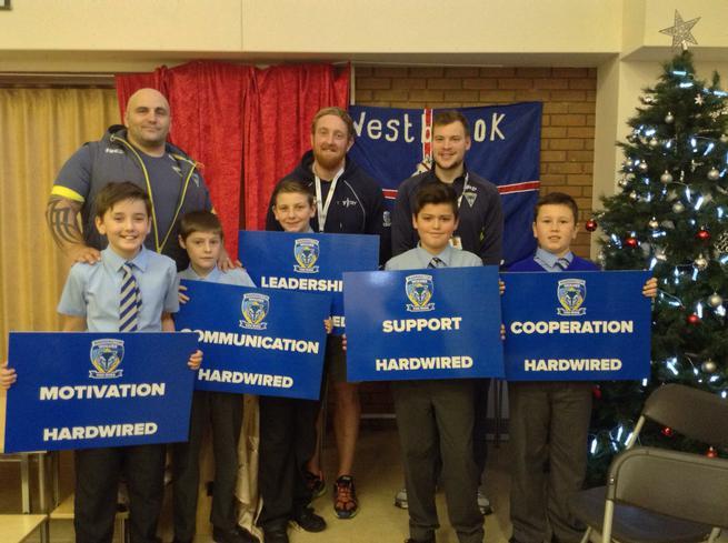 Warrington Wolves community values