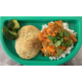 Sweet Potato & Lentil Curry with Rice