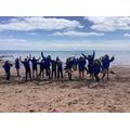 Year 6 beach visit - Enrichment week