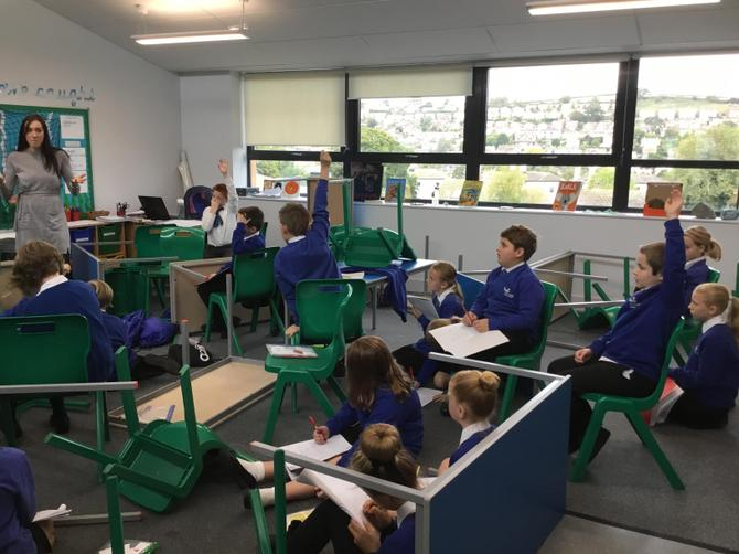 What's happened to the classroom?