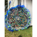 Year 5 recylced rosette entry for the Devon County Show