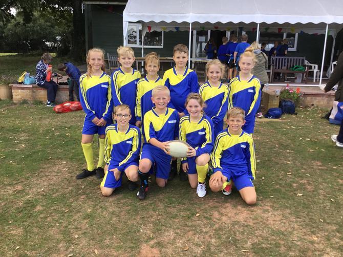 Fantastic tag-rugby team
