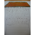 Rosie used good vocabulary to write a description.