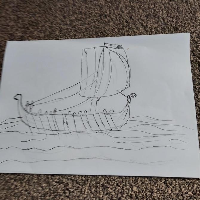 Great longship picture
