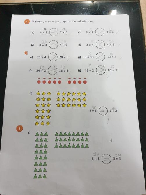 Excellent maths work Saisha!