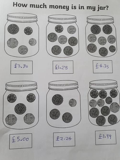 Good maths work Lewis!