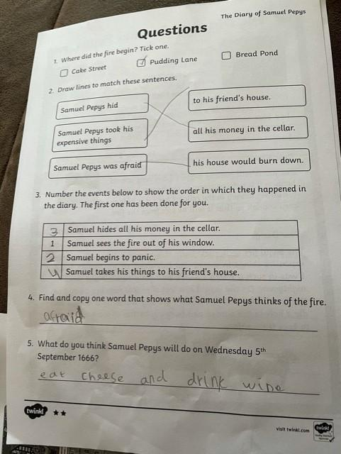 Great answer Phoebe