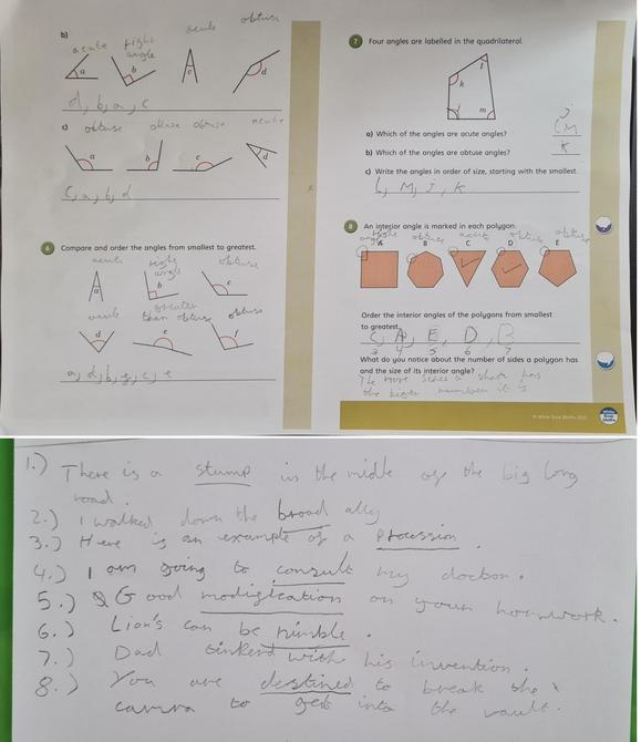 Great effort with your Maths and synoyms Iris.