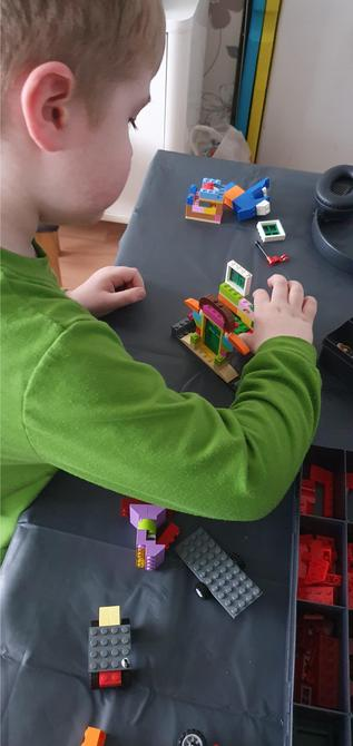 That's a super Lego house you are building, well done!