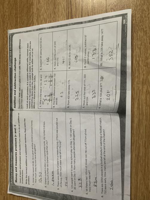Sumpriti' s Maths Challenge