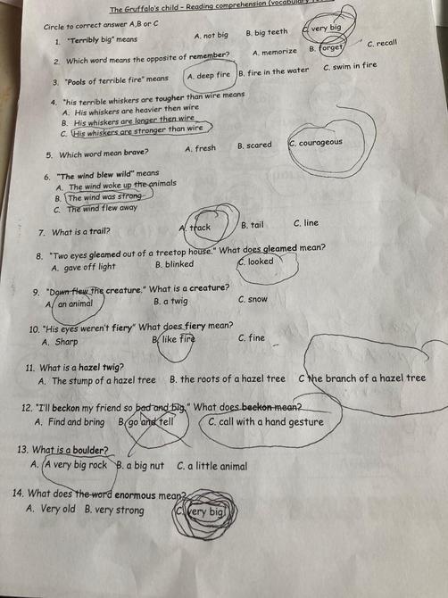 Great answers Georgia
