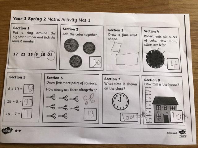 Excellent Maths Amelia