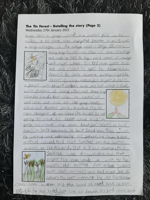 Fantastic use of adjectives and conjunctions Danny P