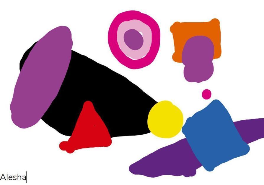 Kandinsky inspired art by Alesha!
