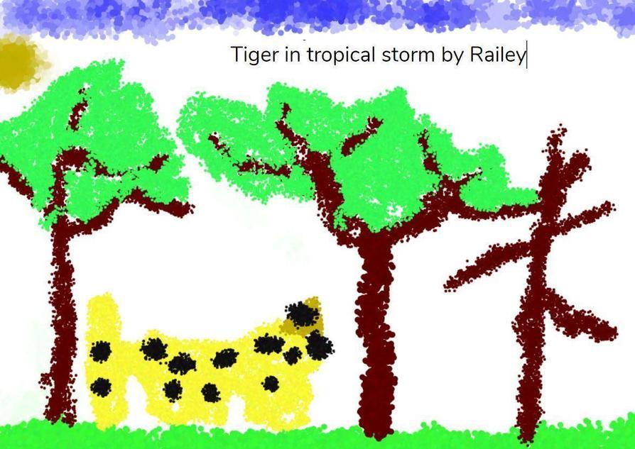 Lovely artwork by Railey!