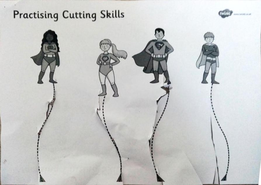 Great cutting Albie